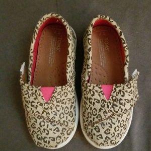 TOMS Leopard Print Shoes